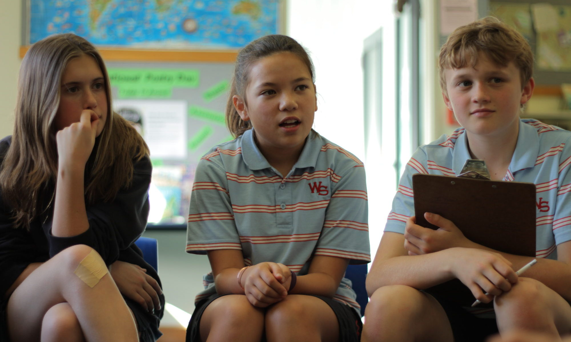 Providing leadership opportunities for students at Wadestown School.