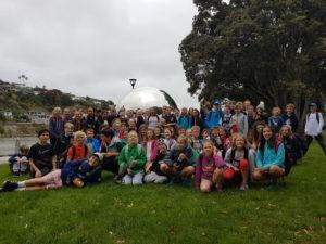 Year 7/8 students enjoying camp at Wanganui.